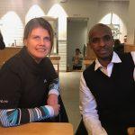 Heidi Hansen og Mohammed Hersi